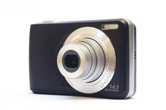 Compact digital camera Royalty Free Stock Image