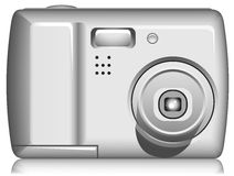 Compact Digital Photo Camera Royalty Free Stock Photos
