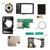Compact digital photo camera Royalty Free Stock Photography