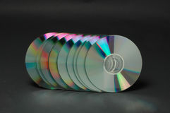 Compact disc 1 Royalty Free Stock Image