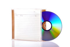 Compact-disc royalty-vrije stock fotografie
