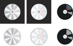 Compact-disc royalty-vrije illustratie