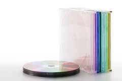 Compact-disc royalty-vrije stock fotografie