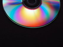 Compact Disc. Detail Stock Image