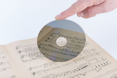 Compact disc Imagens de Stock Royalty Free