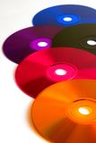 Compact Disc. Background possible to use for printing and project Stock Image