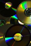 Compact disc abstract Stock Photos