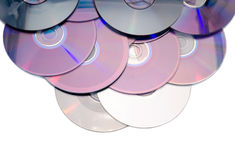 Compact-disc aislados Imagen de archivo libre de regalías