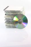 Compact Disc And Cases Royalty Free Stock Image