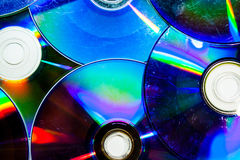 Compact Disc Art Stock Photography