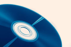 Compact disc of audio wave for Digital sound optical Royalty Free Stock Photography