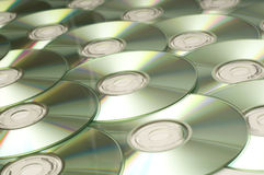 Compact Disc Background Royalty Free Stock Photo