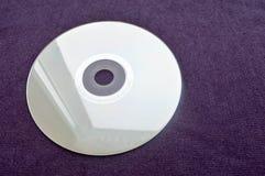 Compact disc brilhante CD, DVD, disco de Bluray fotografia de stock royalty free