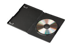 Compact disc in case Royalty Free Stock Photos