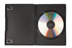 Compact disc in case Royalty Free Stock Photo