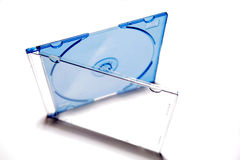 Compact disc case Royalty Free Stock Photos