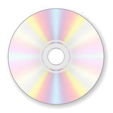 Compact disc. CD digital compact disc on white background Royalty Free Stock Photography