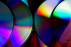 Compact disc of Cd's royalty-vrije stock foto
