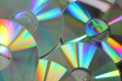 Compact Disc close up Royalty Free Stock Photography