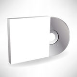 Compact disc cover Royalty Free Stock Photos