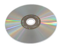 Compact disc. Digital data compact disc cd Royalty Free Stock Photos