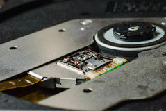 Compact disc drive Stock Image