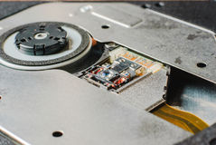Compact disc drive Stock Photography