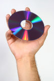 Compact-disc DVD stock foto's