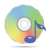 Compact disc icon Royalty Free Stock Photos