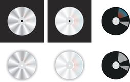 Compact Disc Image Stock Photo