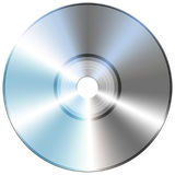 Compact disc isolate Stock Photo