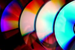 Compact disc ou CD Imagem de Stock Royalty Free