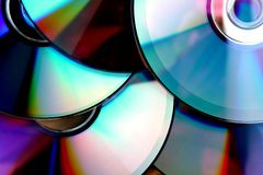 Compact disc ou CD Fotos de Stock Royalty Free