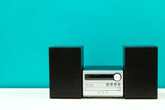 Compact disc player. A compact disc player on a table Royalty Free Stock Image