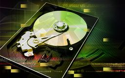 Compact disc reader Stock Photos