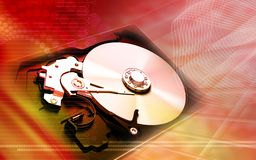 Compact disc reader Royalty Free Stock Photos