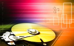 Compact disc reader Royalty Free Stock Photography