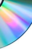 Compact disc vazio do detalhe Imagens de Stock