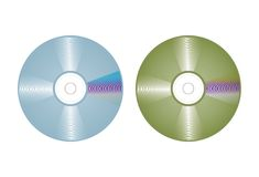 Compact disc vector Stock Photo