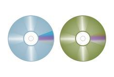 Compact disc vector Stock Photo
