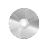 Compact disc on a white Royalty Free Stock Photography