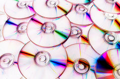 Compact discs Stock Photography