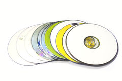 Compact-discs royalty-vrije stock fotografie