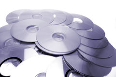 Compact discs Royalty Free Stock Photo