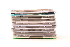 Compact-discs royalty-vrije stock afbeelding