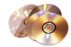 Compact discs Stock Images