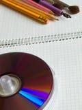Compact discs Stock Image