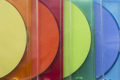 Compact discs Royalty Free Stock Photos