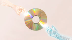Compact discs (Cds) Royalty Free Stock Photos