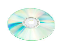 Compact discs with clipping path Royalty Free Stock Photos